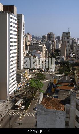 Avenue Duque de caxias, São Paulo, Brazil - Stock Photo