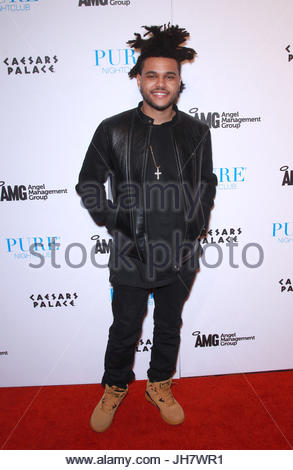 The Weeknd. ADM WEEKNDPURE MJT 10 - 02 November 2013 - Las Vegas, NV - The Weeknd. The Weeknd takes over Pure Nightclub - Stock Photo