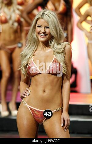 Las Vegas, NV, USA. 12th July, 2017. Hannah Williams, Miss Hooters of Las Vegas, NV in attendance for 2017 Hooters - Stock Photo