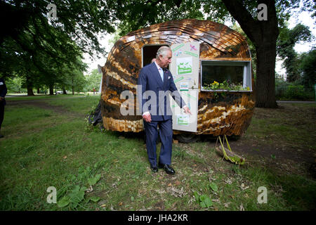 London, UK. 13th July, 2017. One of the UK's largest conservation charities to be launched in recent years was unveiled - Stock Photo