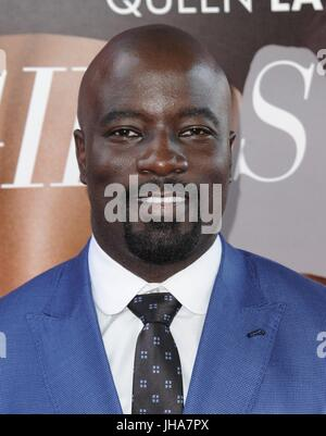Mike Colter at arrivals for GIRLS TRIP Premiere, Regal L.A. LIVE: Barco Innovation Center, Los Angeles, CA July - Stock Photo