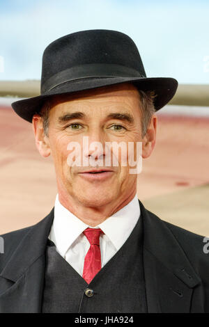 London, UK. 13th July, 2017. Mark Rylance at World Premiere of DUNKIRK on Thursday 13 July 2017 held at ODEON Leicester - Stock Photo