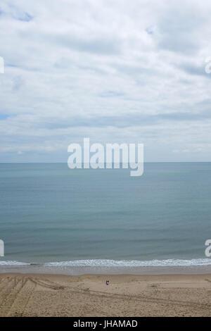 Bournemouth beach in England. - Stock Photo