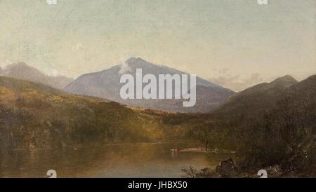 John Frederick Kensett - White Mountains from Shelburne, NH - - Stock Photo