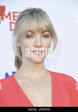 Film Premiere 47 Meters Down  Featuring: Violett Beane Where: Los Angeles, California, United States When: 13 Jun - Stock Photo