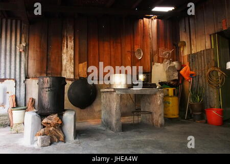 Interiors Of Chinese Traditional House Stock Photo