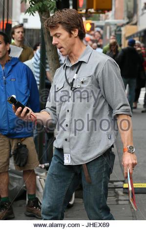 Daniel Moder. Cinematographer Daniel Moder Checks The Light For A