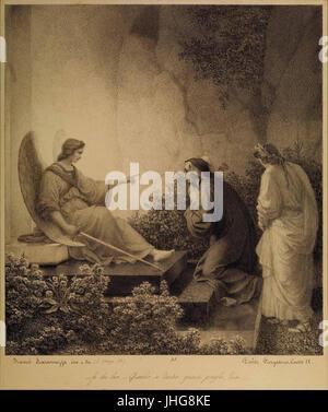 Francesco Scaramuzza - Purgatorio, Canto IX (Angelo guardiano) - Stock Photo