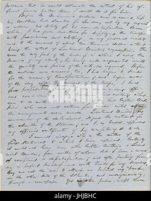 Ticknor, (William D.), ALS to. Mar. 30, 1854 (NYPL b15823745-5070891) - Stock Photo