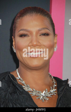 Los Angeles, California, USA . 13th July, 2017. Queen Latifah  07/13/2017 The World Premiere of 'Girls Trip' held - Stock Photo