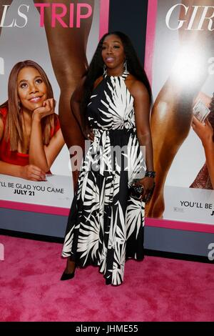 Los Angeles, CA, USA. 13th July, 2017.  Estelle at the 'Girls Trip' Premiere at the Regal Cinemas on July 13, 2017 - Stock Photo