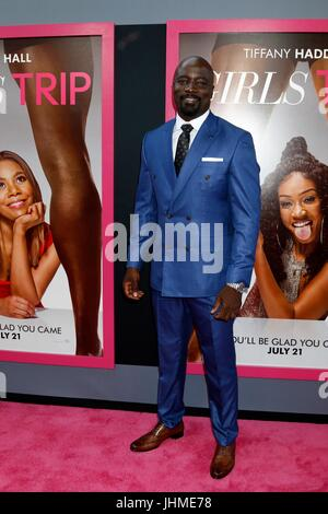 Los Angeles, CA, USA. 13th July, 2017.  Mike Colter at the 'Girls Trip' Premiere at the Regal Cinemas on July 13, - Stock Photo