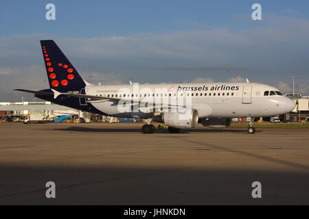 SABENA BRUSSELS AIRLINES - Stock Photo
