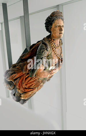 Art & antiquity displays at the Musee D'Historire in Marseille, France on 9/24/2015 - Stock Photo