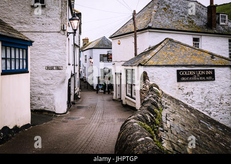 Port Isaac in Cornwall - Stock Photo