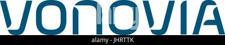 Vonovia, company logo, German housing company, DAX 30 companies - Stock Photo