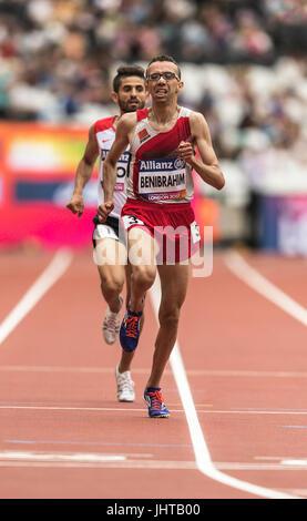 London, UK. 16th July, 2017. World Para Athletics Championships, London 2017 Sunday 16th July, Morning session. - Stock Photo