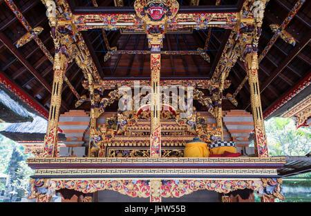 Pura Tirta Empul Temple, Tampaksiring, Bali, Indonesia - Stock Photo