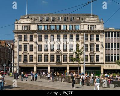 Debenhams Department store building in Old Market Square, Nottingham City centre, Nottingham, UK - Stock Photo