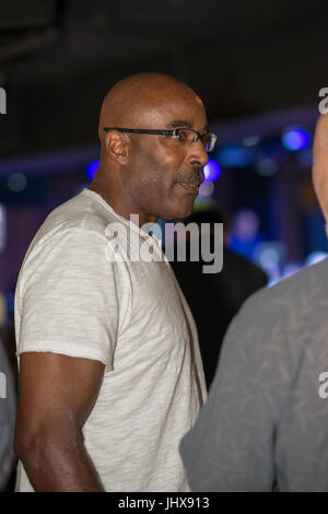 King Of Prussia, USA. 15th July, 2017. former Philadelphia Eagles football player Mike Quick at Kendall's Crusade - Stock Photo