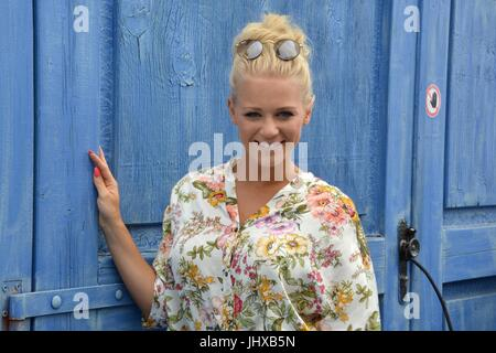 Rust, Germany, 16th July, 2017, Das Erste ARD TV Show 'Immer wieder Sonntags' Featuring: Julia Lindholm Credit: mediensegel/Alamy Live News