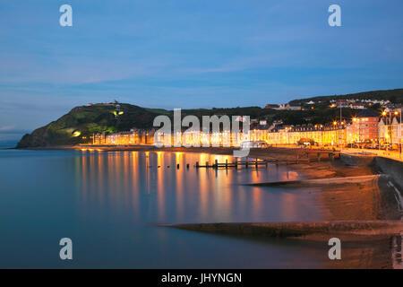 Aberystwyth, Ceredigion, West Wales, United Kingdom, Europe - Stock Photo