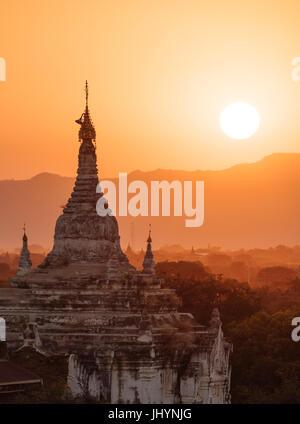 Bagan (Pagan), Mandalay Region, Myanmar (Burma), Asia - Stock Photo