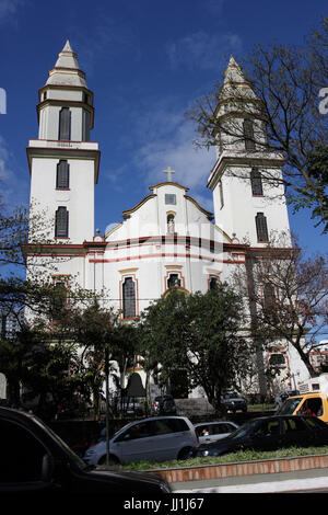 Church, Belo Horizonte, Minas Gerais, Brazil - Stock Photo