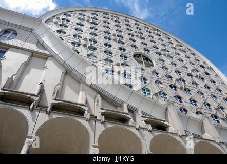 Les Arenes de Picasso, Housing development, aka Les Camemberts, Details of West block, - Stock Photo