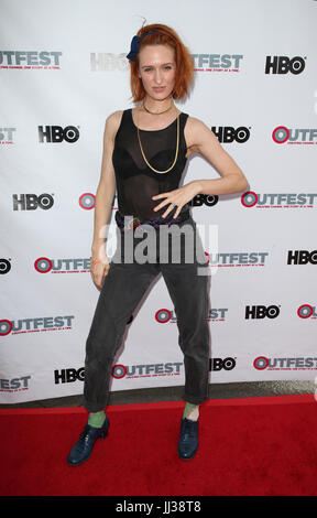 West Hollywood, USA. 16th July, 2017. Breeda Wool. 2017 Outfest Los Angeles LGBT Film Festival - Screening of ''Strangers'' - Stock Photo