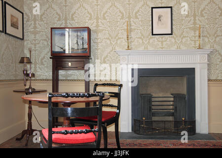 London, UK. 18th Jul, 2017. Sandycombe Lodge, the home designed and lived in by 19th century painter J.M.W. Turner, - Stock Photo