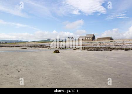 Isle of Man beach, uk - Stock Photo