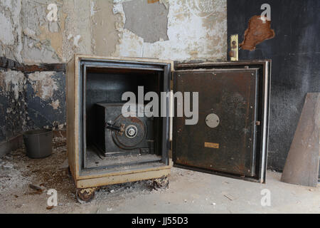 Antique Safe Inside of a Safe - Stock Photo
