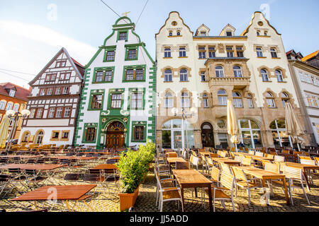 Erfurt city in Germany - Stock Photo