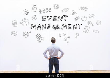 event management concept - Stock Photo