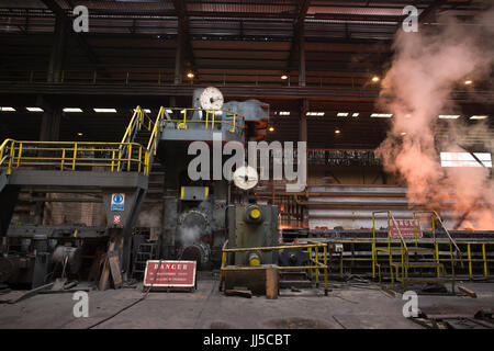 Liberty Steel, steel recycling and steel roll manufacturers, Newport, Wales, United Kingdom - Stock Photo