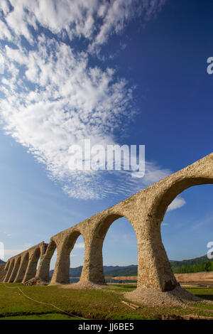 Higashi Taisetsu Arch Bridges - Stock Photo