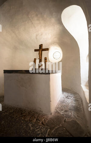 DEU, Germany, Sauerland region, Moehnesee, the chapel in Drueggelte.  DEU, Deutschland, Sauerland, Moehnesee, die - Stock Photo