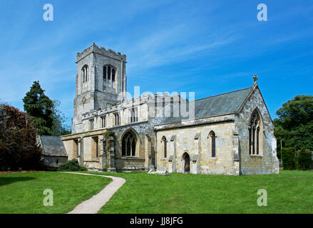 St Martin's Church, Burton Agnes, East Yorkshire, England UK