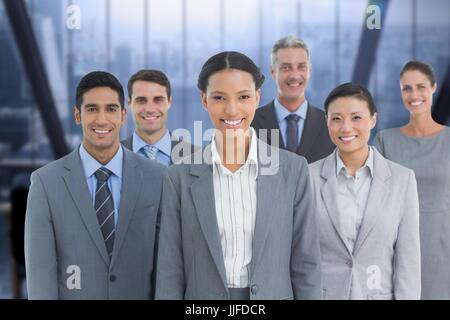 Digital composite of Business group - Stock Photo