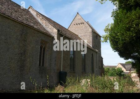 St. Mary`s Church, Ardley, Oxfordshire, UK - Stock Photo