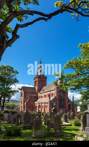 St Magnus Cathedral, Kirkwall, Mainland, Orkney, Orkney Islands, Scotland, UK - Stock Photo