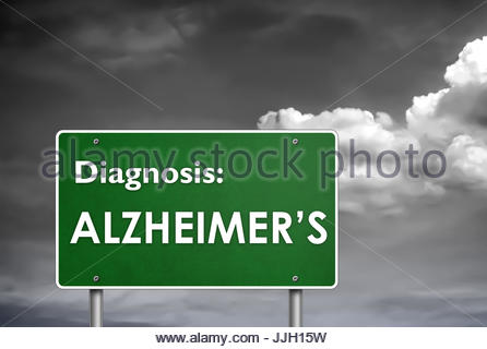 Diagnosis Alzheimer - Stock Photo