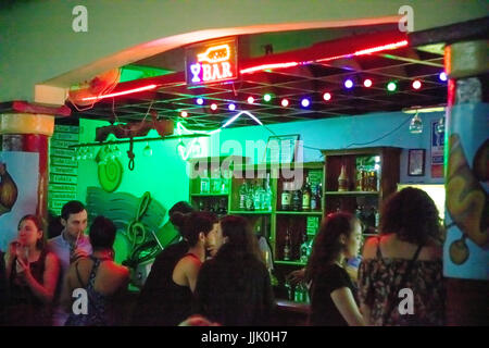 The bar at the Centro Cultural Polo Montanez - VINALES, PINAR DEL RIO, CUBA - Stock Photo