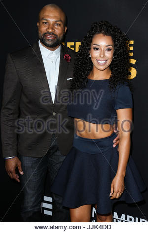 Derek fisher gloria govan celebrities at los angeles premiere of celebrities at los angeles premiere of freestyle releasings meet m4hsunfo