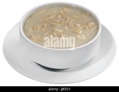 tripe soup, iskembe corbasi, turkish traditional - Stock Photo