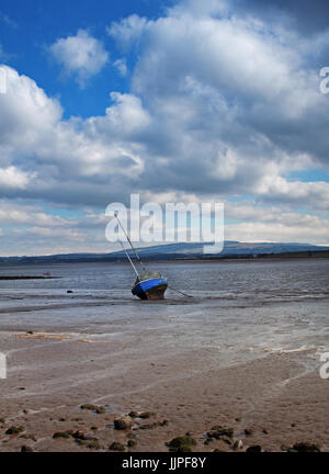 Clouds at Sunderland Point - Stock Photo