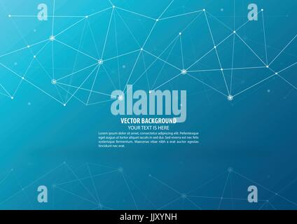 Abstract connecting theme background - Stock Photo