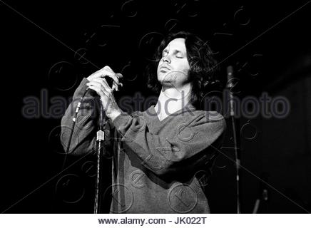 ... Jim Morrison of The Doors performing at the Boston Arena in Boston MA on April  sc 1 st  Alamy & The Doors performing at the Boston Arena in Boston MA on April 10 ... pezcame.com