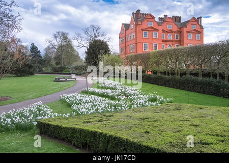 Kew Palace building, in the Royal Botanic Gardens, Kew, UK - Stock Photo